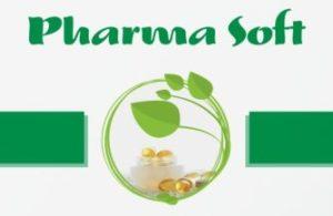 Pharma Soft - logo a obrázek